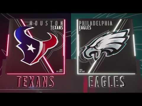 Madden 19 PS4 Pro - Houston Texans vs Philadelphia Eagles Madden NFL 19 PS4 Pro Gameplay