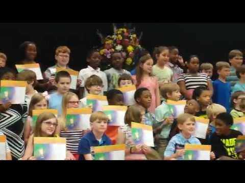Wetumpka Elementary School 3rd grade Honor roll recipients 05 21, 2014