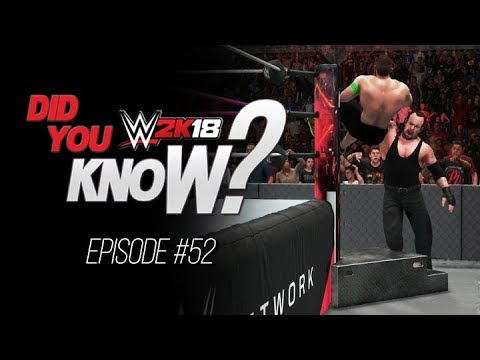 WWE 2K18 Did You Know? Steps Base Glitch, WWE All Stars, CM Punk References & More (Episode 52)