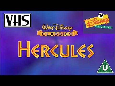 Opening To Hercules Uk Vhs 1998