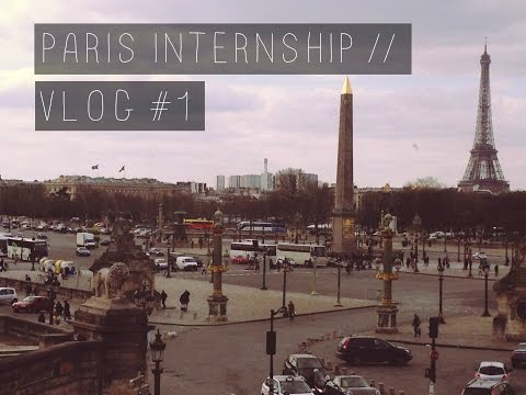 paris internship | vlog #1.
