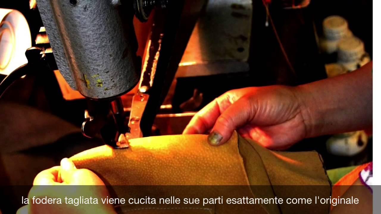 28dab4a639 LOUIS VUITTON : Rifacimento completo della fodera e del profilo superiore  in pelle. Artigianoteca 1937