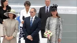 Kate Middleton christens Royal Princess cruise ship