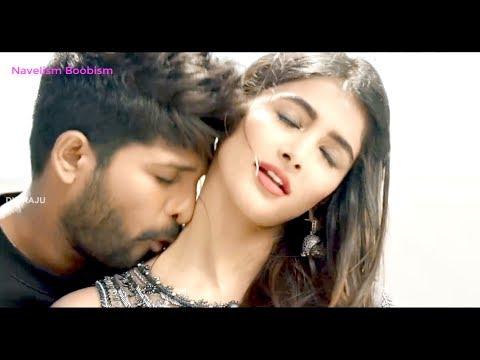 Pooja hegde hot Latest in DJ || pooja hegde hot romance || pooja hegde hot navel .||