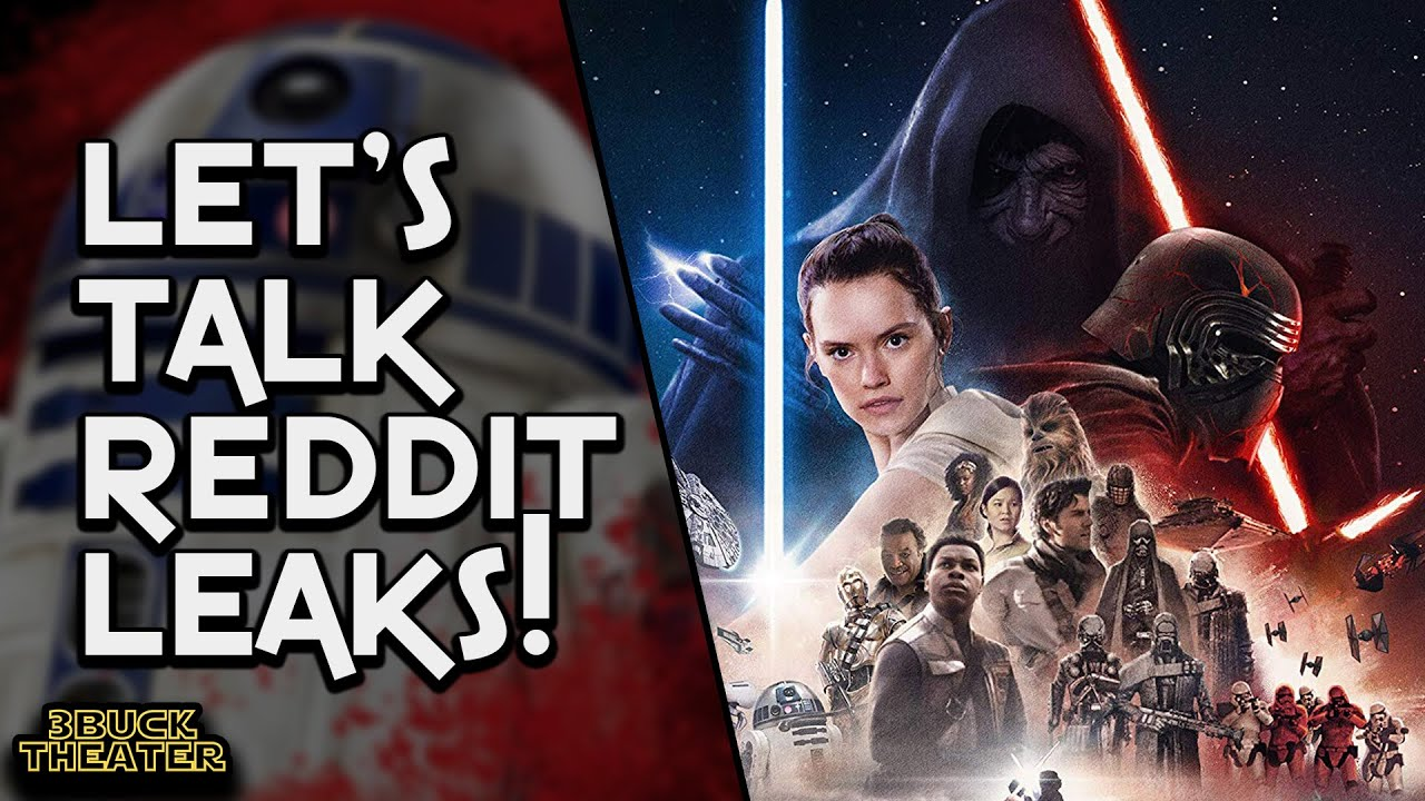 The Rise Of Skywalker Reddit Leaks Are Terrible Youtube