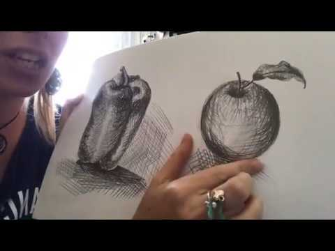 ART COURSE FREE ONLINE Task 4: Graphite Still Life Mark Making