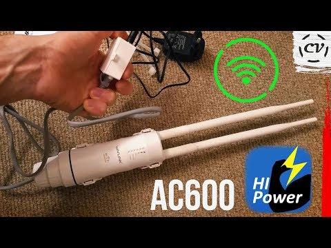 Boosting My WiFi With The WAVLINK AC600 High Power Repeater