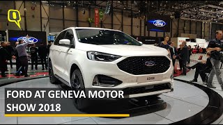 Ford At Geneva Motor Show 2018   The Quint