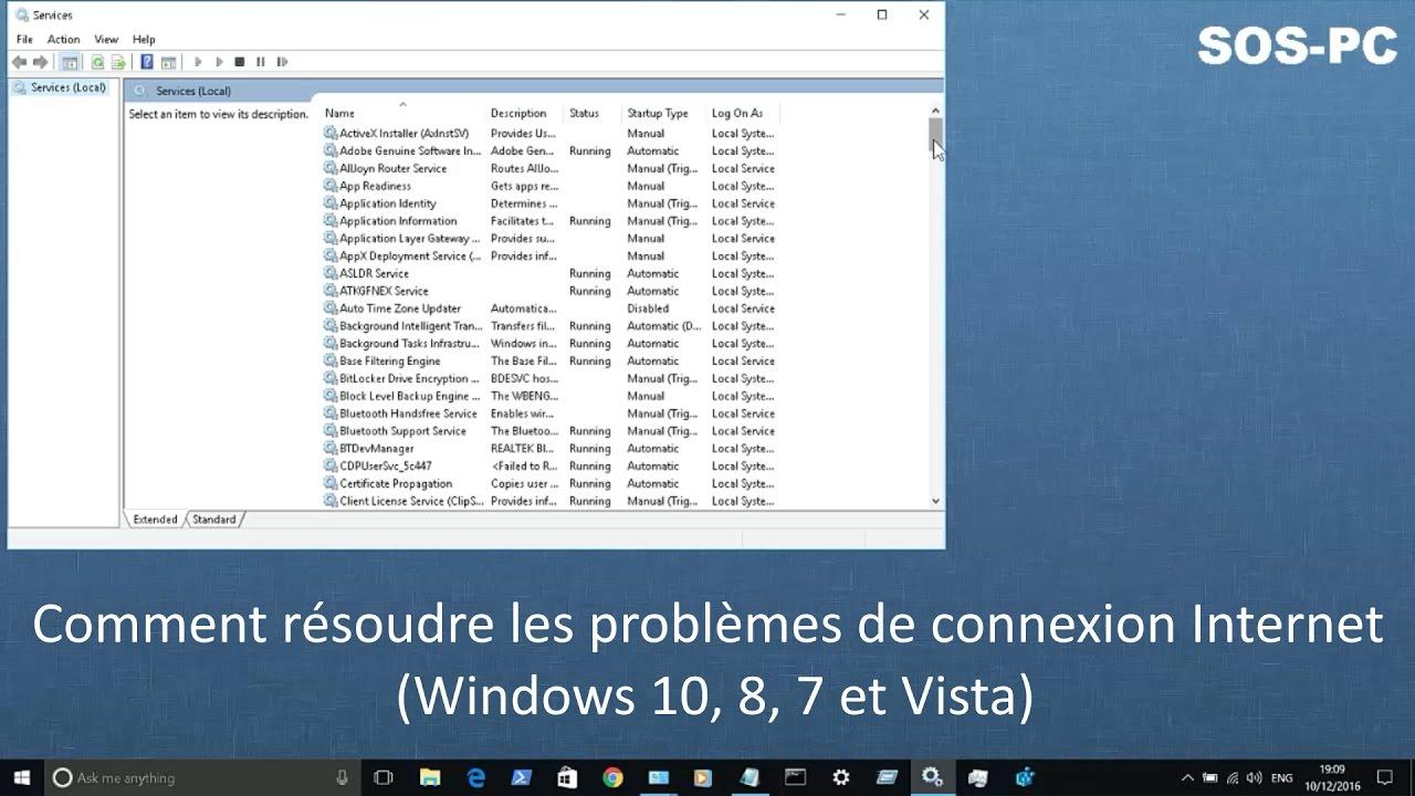 Internet Probleme Windows 10
