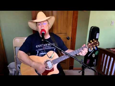 2023 -  Waymore's Blues -  Waylon Jennings vocal & acoustic guitar cover & chords