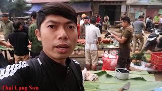 Sáng Sớm Đã Đông Kín Người Chờ Mua Thịt Lợn Quay ngày tết thanh minh lạng sơn I Thai Lạng Sơn