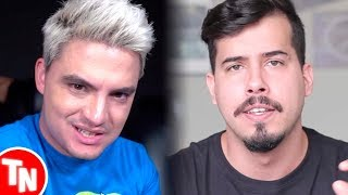 "Moscoso chama Felipe Neto de ""patético"" após receber indireta dele"