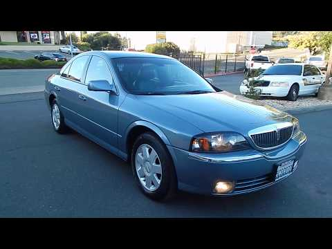 2003 Lincoln LS 63k Miles 1 Owner With Clean Carfax.  Video Review And Walk Around.