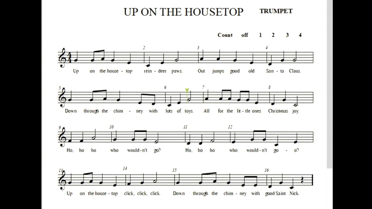 HVB Up On the Housetop Trumpet