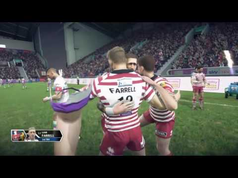 RUGBY LEAGUE LIVE 3   SUPER LEAGUE MATCH   WIGAN WARRIORS v HULL KINGSTON ROVERS
