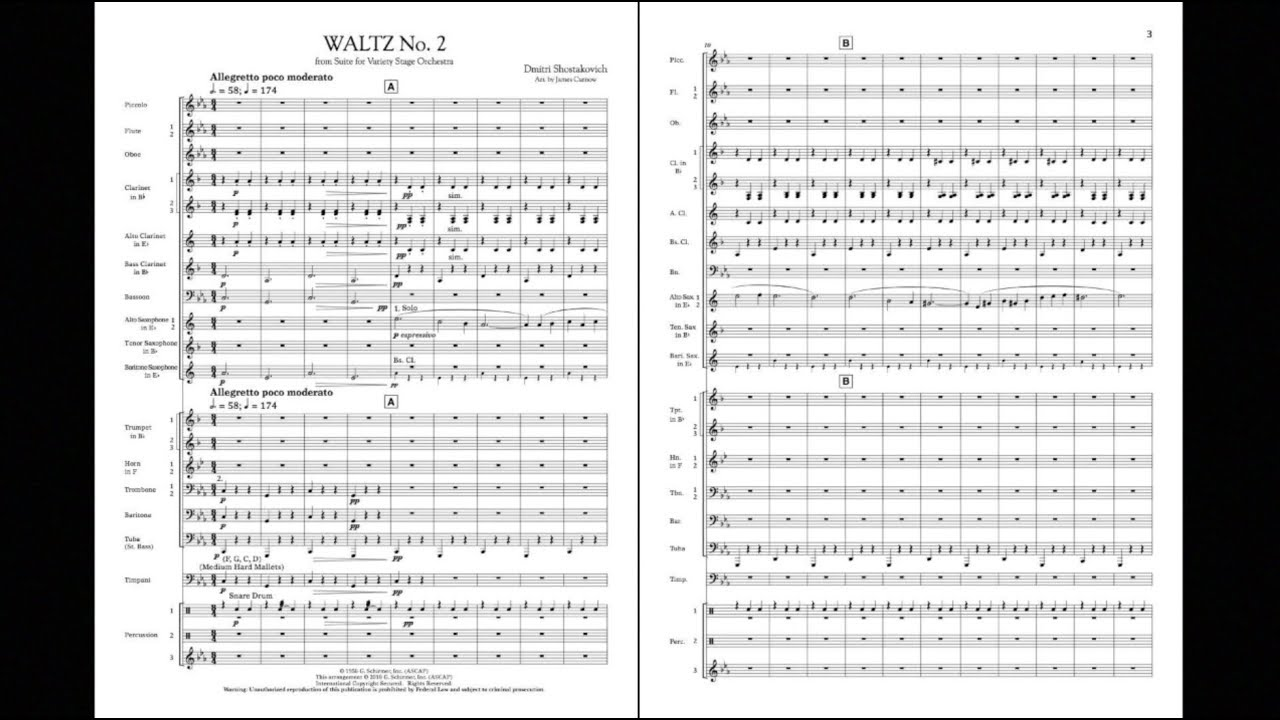 Waltz No  2 (from Suite for Variety Stage Orchestra) | Hal
