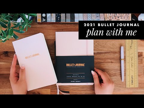 2021 bullet journal setup · plan with me