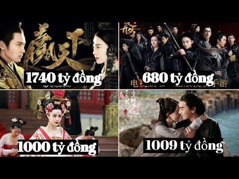 Top 10 bộ phim cổ trang Hoa ngữ có kinh phí đầu tư khủng nhất