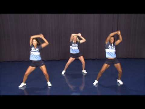 Cheer Tryout Dance With Music From The Front