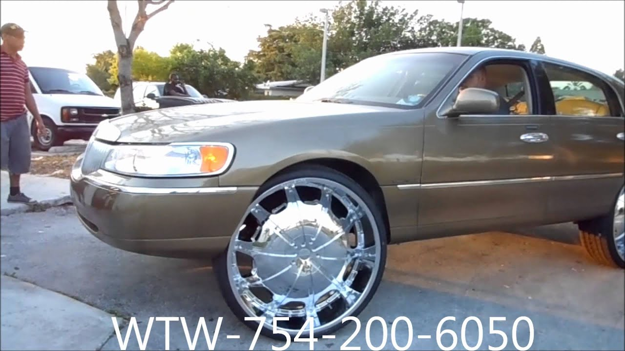 Acewhips Net Wtw Customs Broward Lincoln Towncar On 30 Rockstars