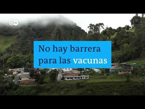 NO TIENEN LÍMITE! Brigadas de vacunación en medio de las montañas