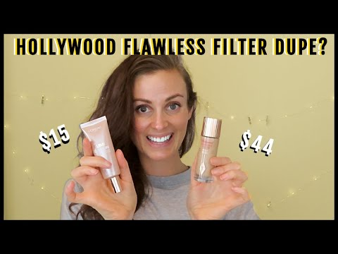 Charlotte Tilbury Hollywood Flawless Filter DUPE?! | Testing out L'Oreal Glotion thumbnail
