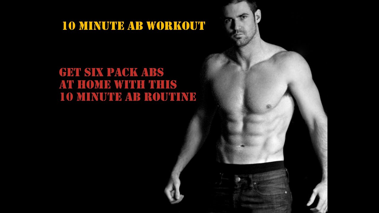 10 MINUTE HOME ABS WORKOUT ROUTINE