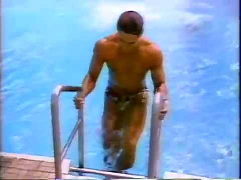 September 22, 1988 - USA Diver Greg Louganis Comes Back  Day After Hitting His Head on Diving Board