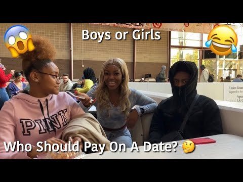 Who Should Pay On A Date 🤔 | Public Interview | A TheJawn
