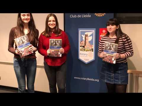 9è Premi Protagonistes del demà - Rotary Club de Lleida