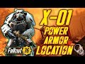 X-01 Power Armor Location In Fallout 76 (SPOILERS)