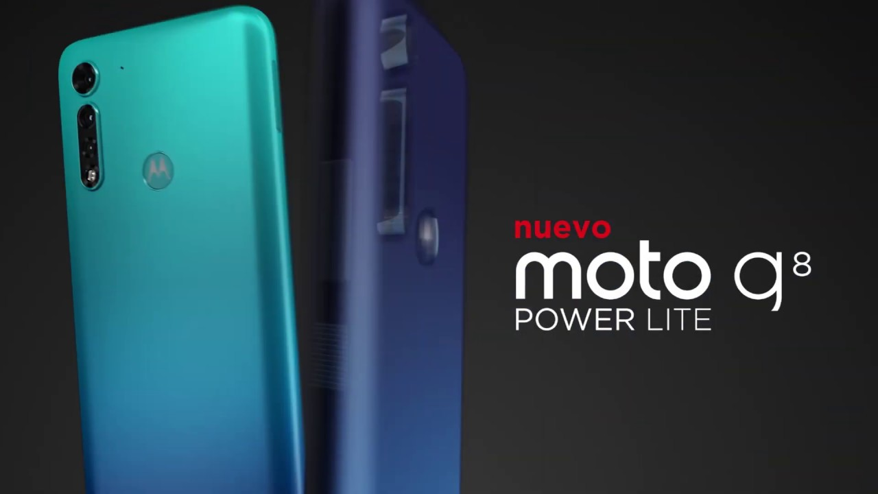 Nuevo #MotoG8Power Lite - YouTube