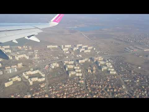 Wizz Air Take off from Sofia Airport Bulgaria