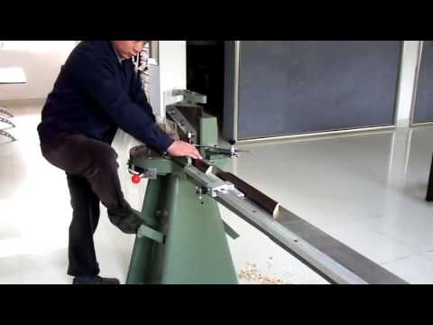 Manual Foot Operated Guillotine Frame Cutter Demo Youtube