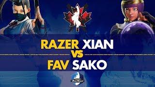 Razer Xian (Ibuki) VS FAV Sako (Menat) - Canada Cup 2019 Winner's Quarters - CPT 2019
