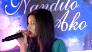 Jasmine Curtis-Smith singing Sparks Fly