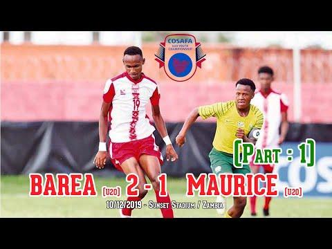 BAREA (U20) 02 - 01 MAURICE (U20) - 10/12/2019 / Part 01