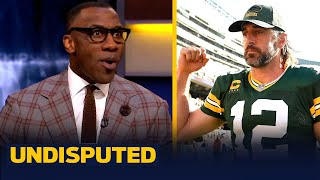 """Shannon Sharpe reacts to Aaron Rodgers yelling """"I still own you"""" to Bears fans 