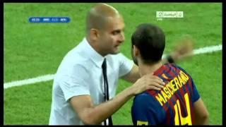 أهداف  ريال مدريد وبرشلونة - نهائي كأس السوبر الاسباني