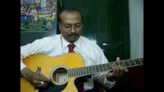 Kunguma poove guitar instrumental by Rajkumar Joseph.M