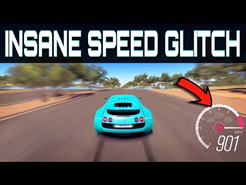 Generate Driving over 900km/h !!! | Forza Horizon 3 | Insane NEW Topspeed Glitch!! Images