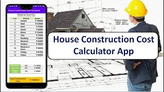 House Construction Cost Calculator App || Ghar Ka Kharch || Cost of Construction App || 2020 screenshot 4