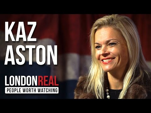 Kaz Aston - Thriving with Multiple Sclerosis - PART 1/2   London Real