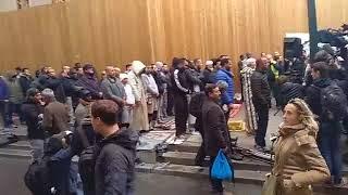 Протест против мусульман во Франции