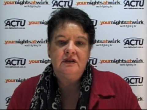 May Day 2009: Message of Sharan Burrow - ITUC President