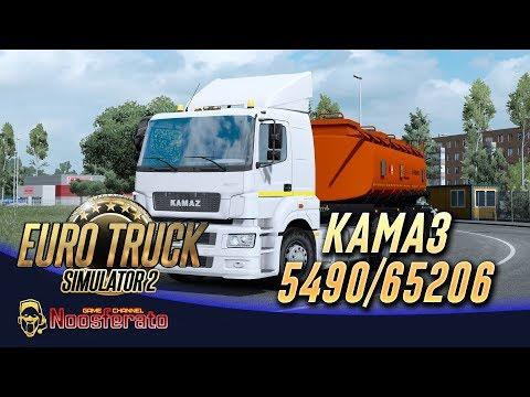 🚛 Обзор мода КамАЗ 5490 от Lacoste36 для Euro Truck Simulator 2 1.35