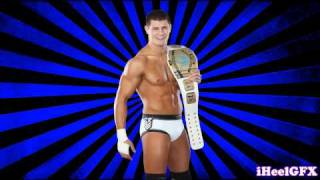 "2012: Cody Rhodes 10th WWE Theme Song - ""Smoke & Mirrors"" [V2] (WWE Edit)"