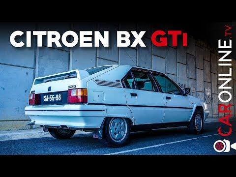 CITROEN BX GTi 1.6 1989 é tão DIFERENTE mas tão BOM! [Review Portugal]