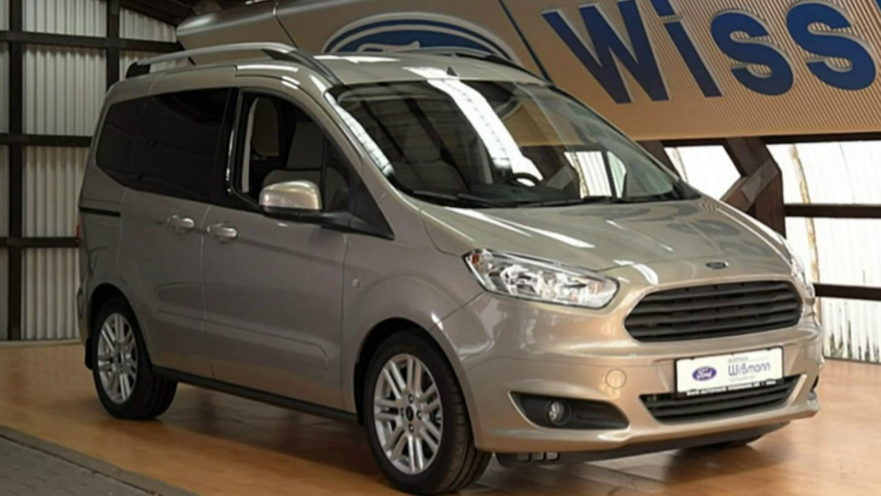 ford tourneo courier titanium taclge56061 titan grau autohaus wissmann youtube. Black Bedroom Furniture Sets. Home Design Ideas
