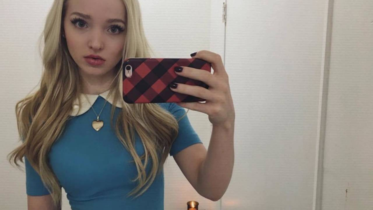 Dove Camerons Leaked Cell Phone Pictures